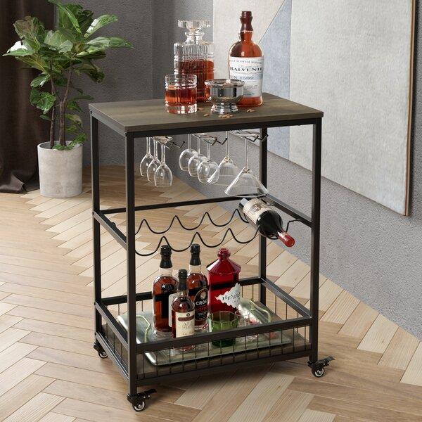 Bar Cart Wine Rack Wayfair