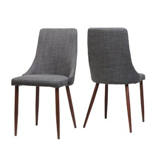 Doolin Mid-Century Upholstered Dining Chair (Set Of 2) by Brayden Studio No Copoun