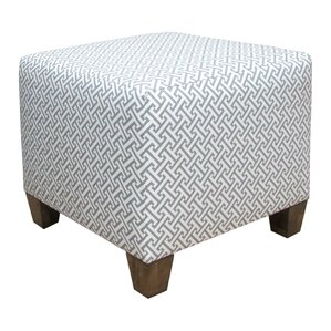 Cross Section Ottoman by Skyline Furniture