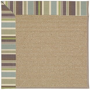 Lisle Light Brown Indoor/Outdoor Area Rug