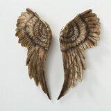 Gold Angel Wings Wall Decor Wayfair
