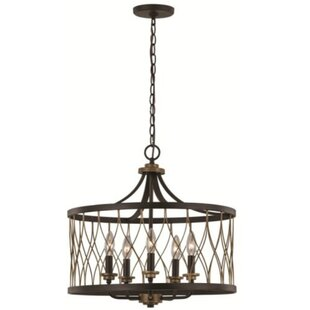 Williston Forge Gourley 5-Light Pendant