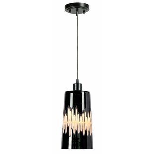 Wrought Studio Aganon 1-Light Cylinder Pendant