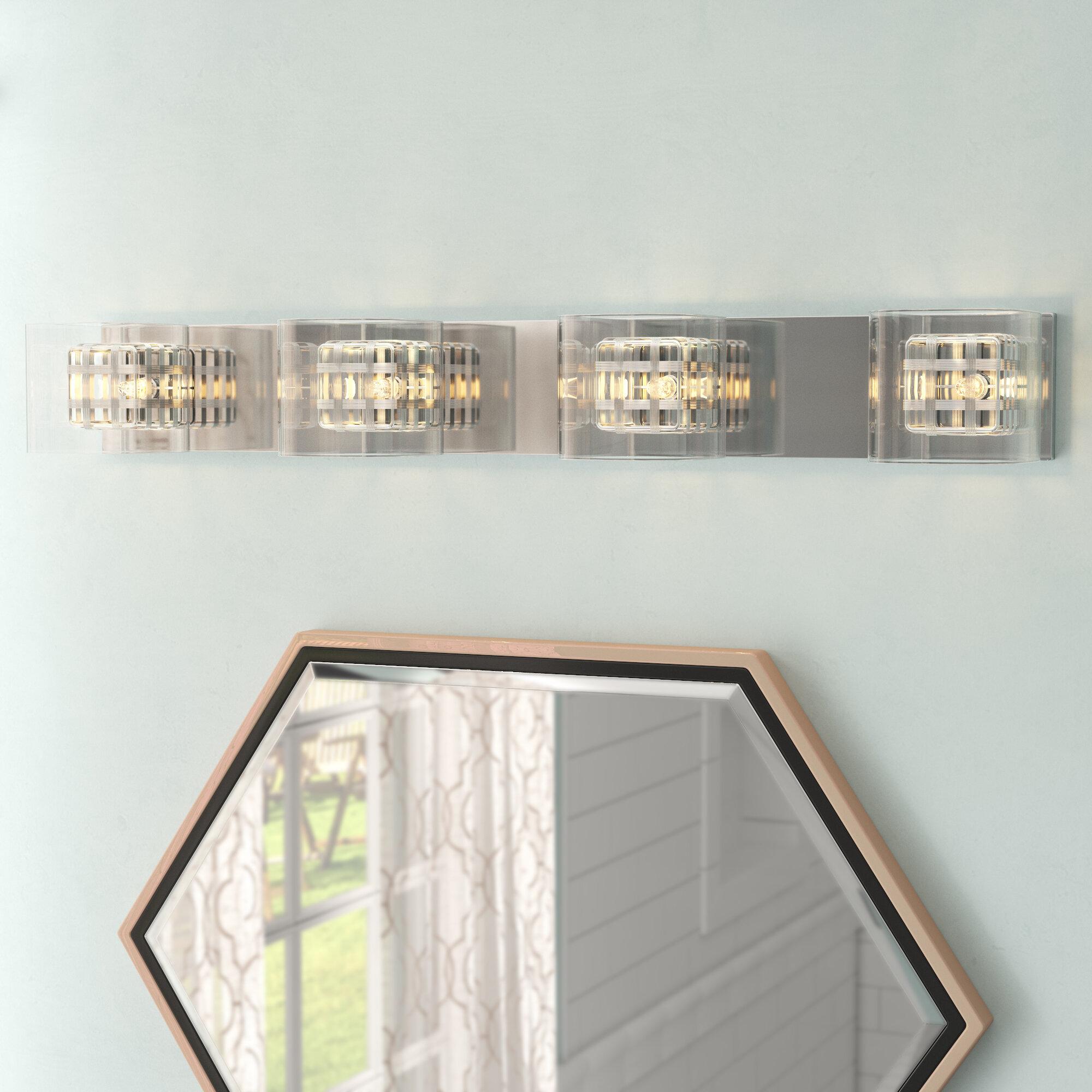 Willa Arlo Interiors Artemisia 4 Light Bath Bar Reviews Wayfair