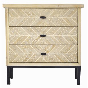 Breslin 3 Drawer Accent Chest by Union Rustic