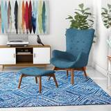 Canyon Vista Lounge Chair and Ottoman by Langley Street