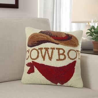 Wrought Studio Nesler Eat Sleep Hustle Wool Throw Pillow Wayfair