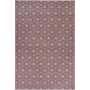 Lundin Namur Rust Indoor/Outdoor Area Rug
