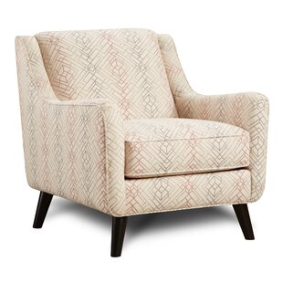 Laws Blush Armchair by Bungalow Rose