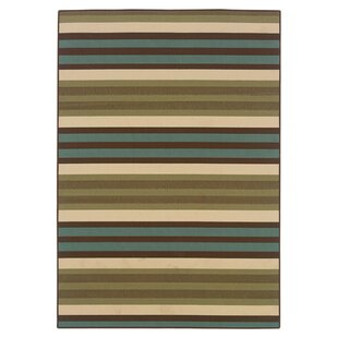 Ceasar Green/Blue Indoor/Outdoor Area Rug