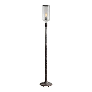 Comparison Sunset Crater Old Industrial 71 Torchiere Floor Lamp By Trent Austin Design