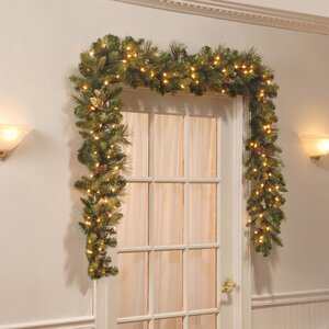 Golden Green Wakauto Christmas Ball Wreath with Feather Shatterproof Xmas Front Door Wreath Window Hanging Garland for Christmas Tree Hanging Decoration