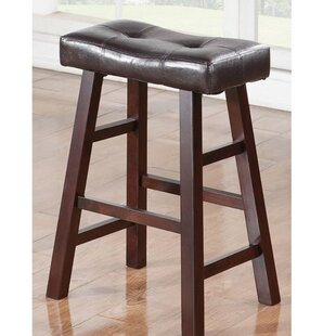 Rowden Rubber Wood Bar Stool (Set of 2) by Charlton Home