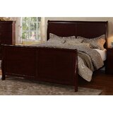 Malvern Sleigh Bed by Canora Grey