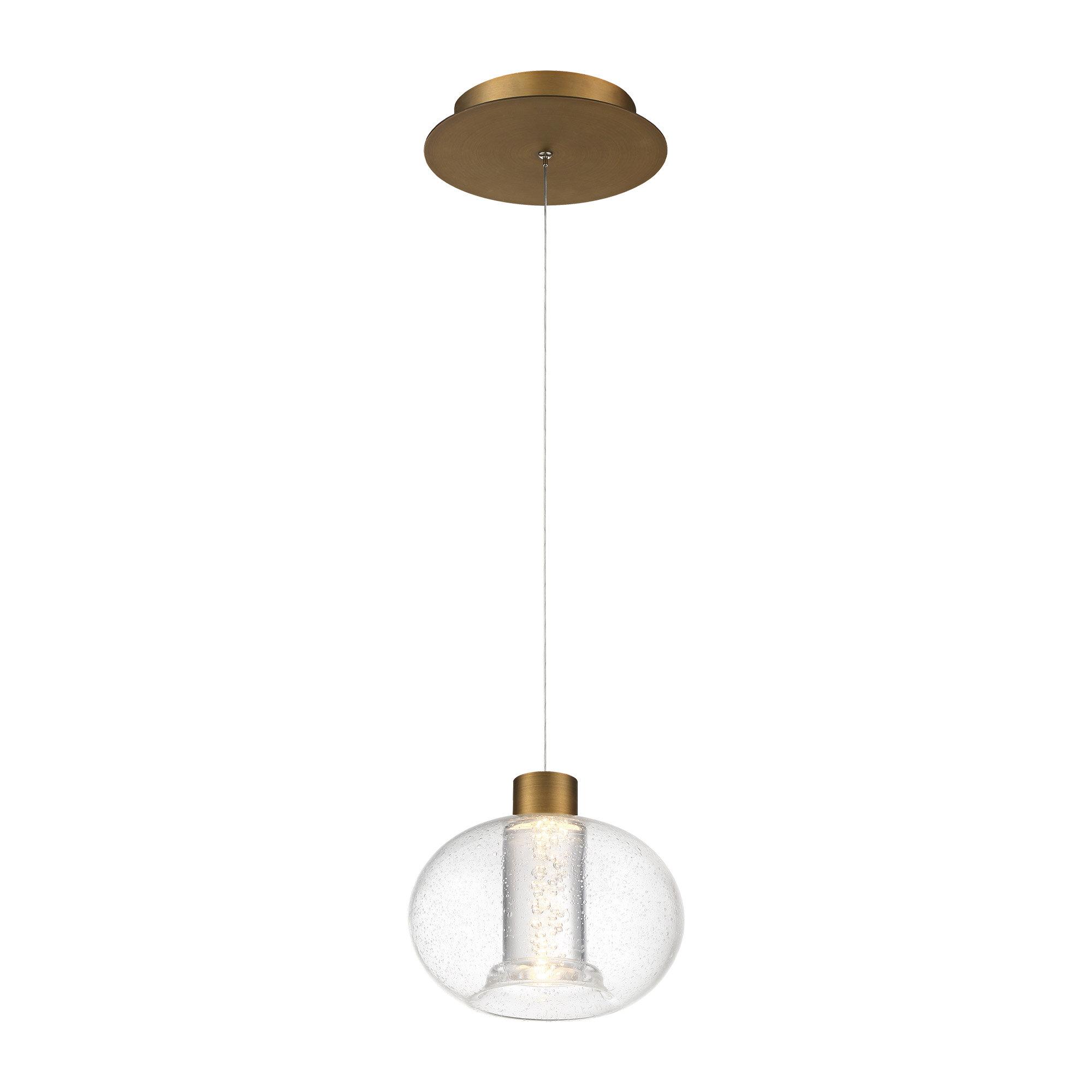 Dweled 1 Light Single Globe Led Pendant Perigold