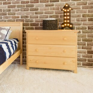 Great Price Ginny 3 Drawer Dresser by Harriet Bee Reviews (2019) & Buyer's Guide