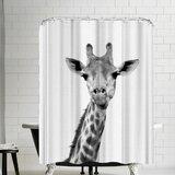 Giraffe Shower Curtain Wayfair