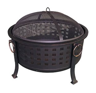 Backyard Expressions Basket Weave Steel W..