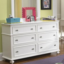 Otto 6 Drawer Double Dresser by Viv + Rae