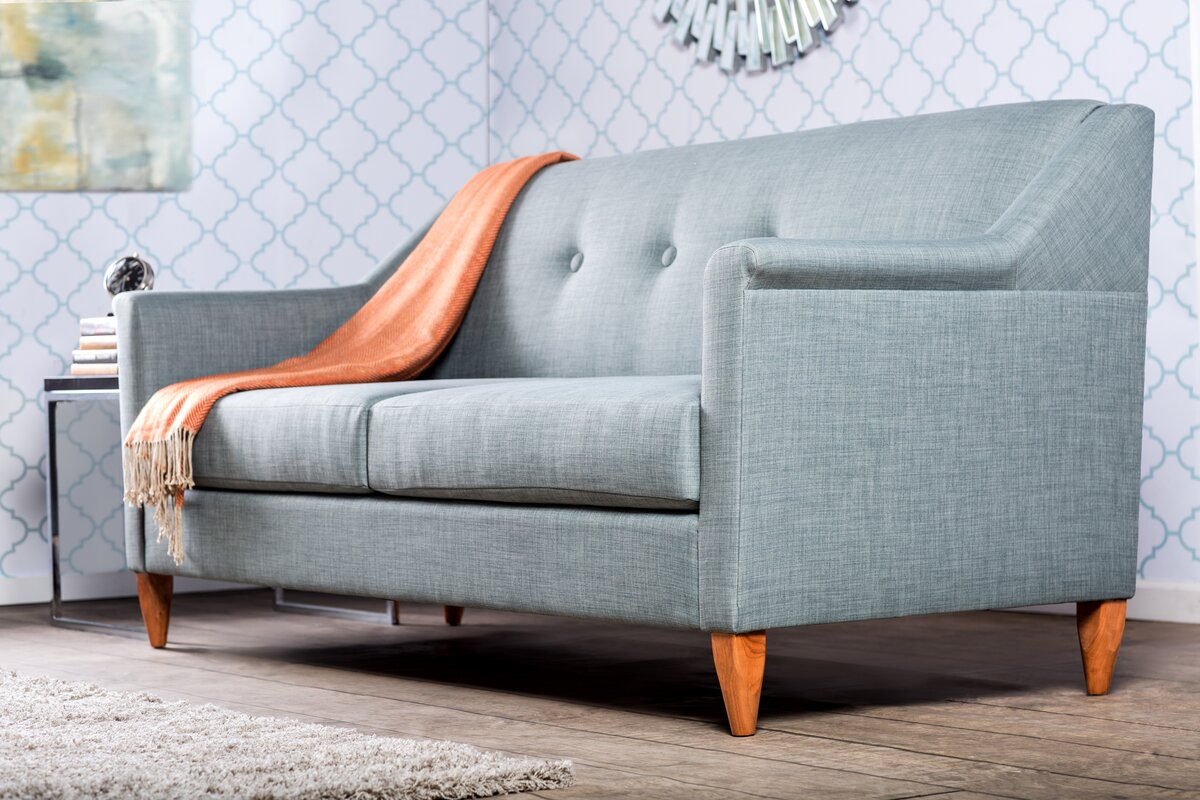 Teal Tufted SofaJennifer Taylor Home 63170 3 867 Kelly Tufted Sofa In Satin  Teal