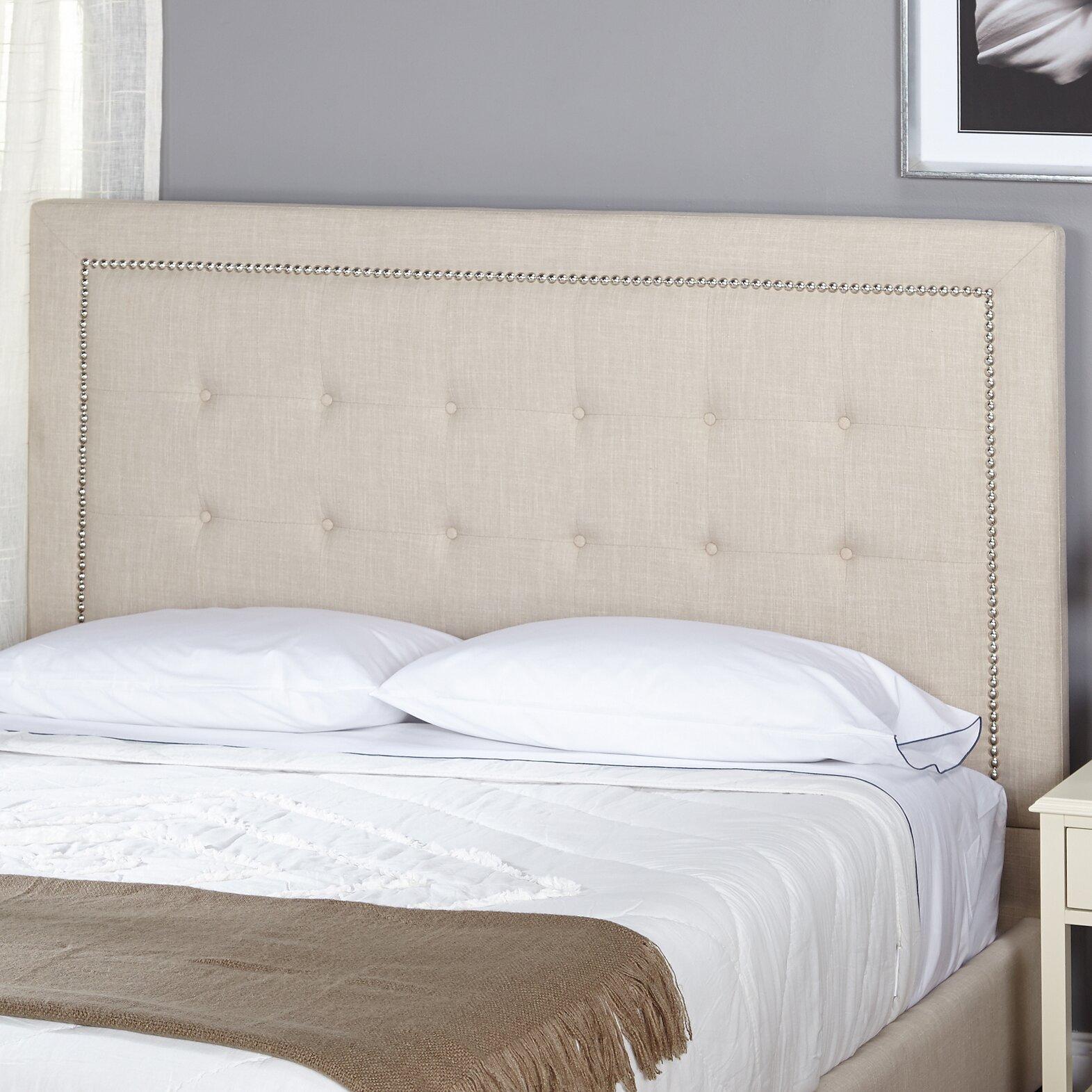 Bed headboard upholstered - Cortina Queen Upholstered Panel Headboard