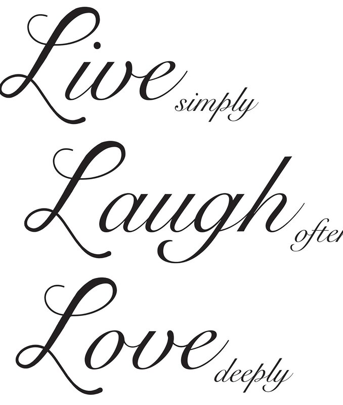 Live Laugh Love Wall Decal Part 65