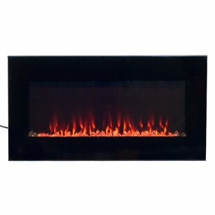 Arlo Wall Mounted Electric Fireplace by Wade Logan