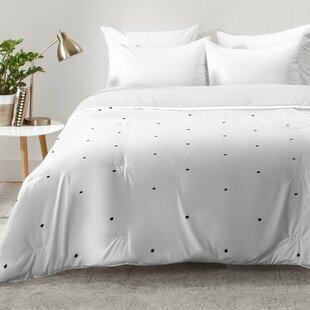 Black Dot Comforter | Wayfair