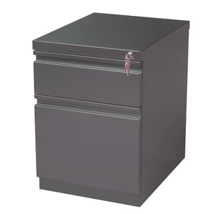 Latitude Run Brusnice 2-Drawer Mobile Vertical File
