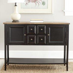 charlotte shag console table