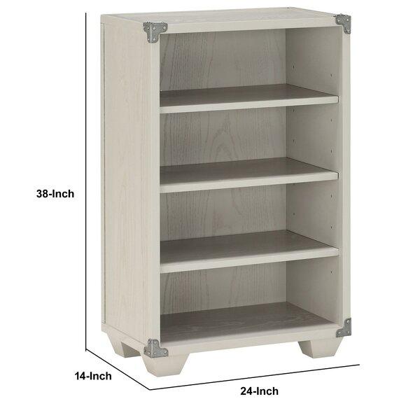 Williston Forge Throncliffe 38'' H x 24'' W Standard Bookcase