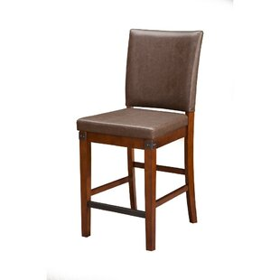 Failand Rubberwood Upholstered Dining Chair (Set of 2) DarHome Co