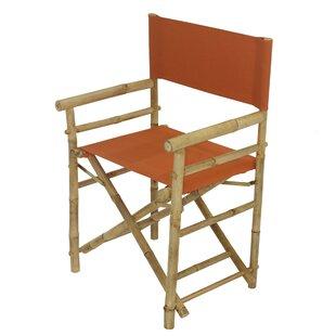 Yohana Bamboo Director Chair (Set of 2) by Bayou Breeze