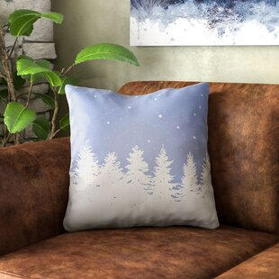 Frissell Trees Indoor/Outdoor Throw Pillow