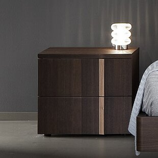 Rossetto USA Tratto 2 Drawer Nightstand