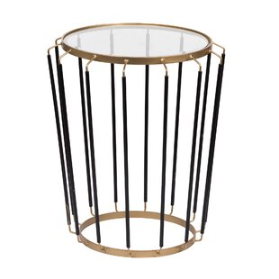 Grice End Table by Ivy Bronx