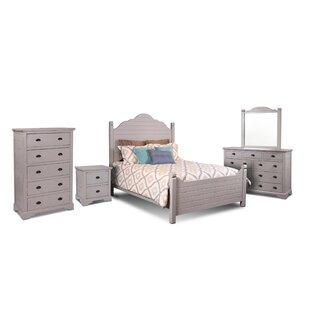 Ragnar Queen Panel 5 Piece Bedroom Set