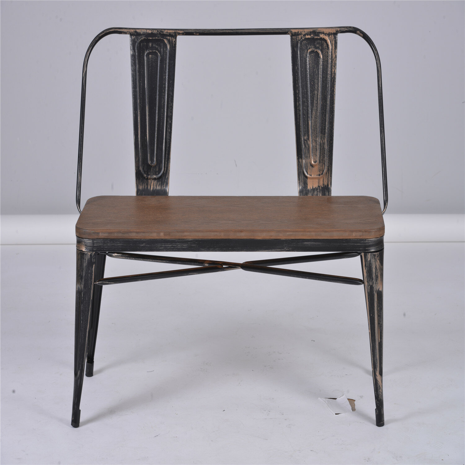 Picture of: Williston Forge Getchell Metal Bench Wayfair