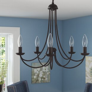 Affordable Emilia Candle-Style Chandelier By Three Posts