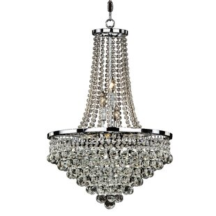 Summerhill 9-Light Chandelier by Glow Lighting