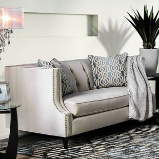 Online Reviews Deandre Loveseat by Rosdorf Park Reviews (2019) & Buyer's Guide