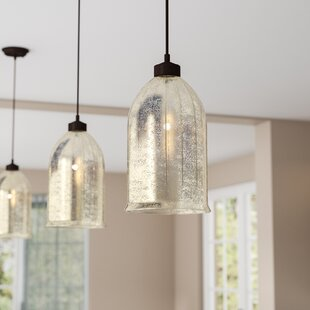 Andrade 1-Light Bell Pendant by Darby Home Co