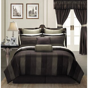 Midnight 24 Piece Comforter Set by Ever Rouge