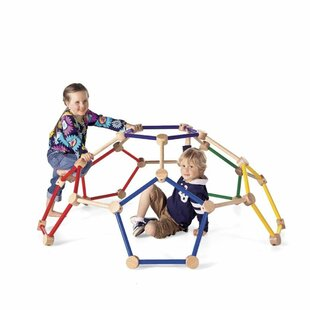 Wooden Indoor Dome Climber By Magic Cabin