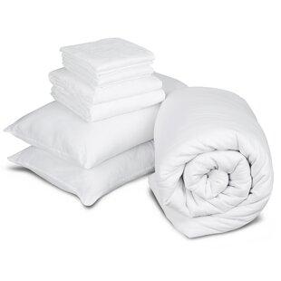 Big Value Polycotton Duvet With Pillows By Slumberdown