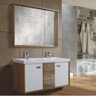 Pennington 1200mm Free-standing Double Vanity Unit By Ebern Designs