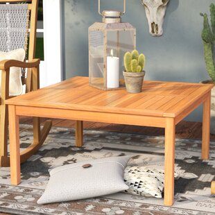 Check Prices Waurika Outdoor Wood Coffee Table Best reviews