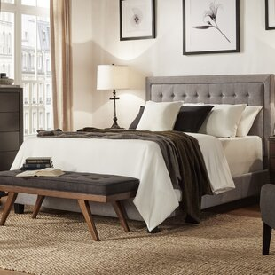 Three Posts Woodside Upholstered Panel Bed
