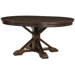 Suzana Pedestal Extendable Dining Table DarHome Co