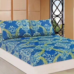 Randwick Damask Fitted Sheet